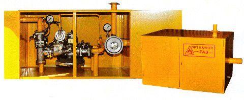 Пункт газорегуляторный блочный ПГБ-13-1В-У1